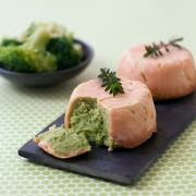 Timpani salmon spinach